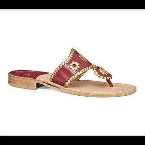Jack Rogers FSU sandals
